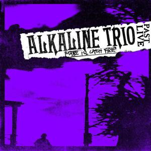 Alkaline Trio 'Maybe I'll Catch Fire Past Live' Purple Vinyl - NEW