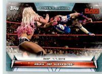 2019 WWE Womens Division #61 Asuka Alexa Bliss