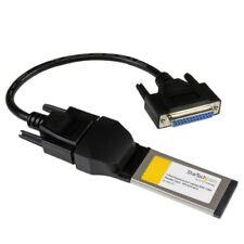 StarTech EC1PECPS 1 Port ExpressCard Laptop Parallel Adapter Card - SPP/EPP/ECP