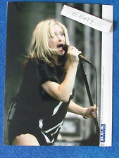 "Original Press Photo - 8""x6"" - Alison Goldfrapp - 2004 - B"