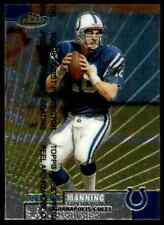 New listing 1999 Topps Finest Sensations Peyton Manning-6 Indianapolis Colts #142