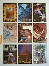 1997 SKYBOX *MARVEL PREMIUM QFX* COMPLETE 72 CARD BASE SET + PROMOS
