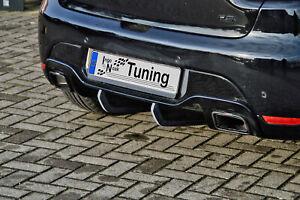 Heckansatz Diffusor Heckdiffusor aus ABS für Renault Clio 4 RS