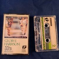 Cassette Tape George Harrison Thirty THREE AND 1/3 Counterfeit Two Bare Feet