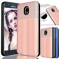 For Samsung Galaxy J7 Crown/V 2018/J7 Star/Refine Hybrid Rugged Hard Case Cover