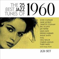 VARIOUS ARTISTS - THE 25 BEST JAZZ TUNES OF 1960 NEW CD