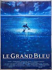 Affiche LE GRAND BLEU Jean-Marc Barr LUC BESSON Jean Reno 120x160cm b