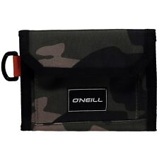 REDUCED O'NEILL MENS WALLET.POCKETBOOK TRIFOLD CAMO GREEN MONEY NOTE CARD 8W 222