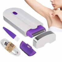 Painless Hair Removal Kit Laser Touch Epilator USB Rechargeable