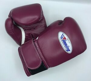 Winning Boxing gloves 8oz Wine-red IN STOCK Fast shipping from JAPAN tracking