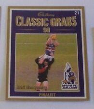 1999 Select Cadbury Classic grabs card #21 Brett Montgomery - Western Bulldogs