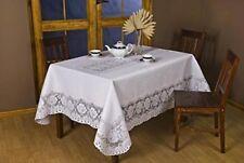 Fine European Polish Lace Table Cloth