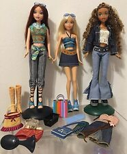 My Scene Barbie Shopping Spree Chelsea Second Wave Madison Barbie Clothes Lot