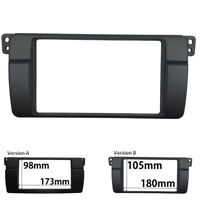 2 Din Radio Fascia for BMW 3 Series E46 1998-2005 Stereo Panel Dash Trim Kit