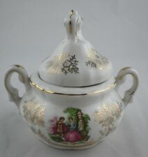 Royal Vienna BEEHIVE 2303 Pictorial Sugar Container w/Handles Dispenser Lid