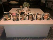 Royal Doulton Large Character Jugs Complete Set!