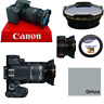 HD3 WIDE ANGLE + MACRO LENS FOR Canon Rebel EOS T2 T2I XI T3 T3I T4 T5 T6 7D 6D