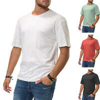 Jack & Jones Herren T-Shirt Kurzarmshirt Basic Oversize Shirt Color Mix SALE %