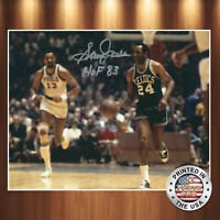 Sam Jones Autographed Signed 8x10 Photo ( HOF Celtics ) REPRINT