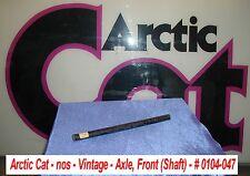 Arctic Cat Snowmobile Suspension Front Axle # 0104-047 1967-71 Models Vintage