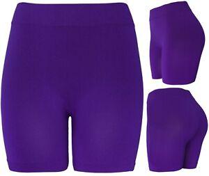 "Women's 13"" Long Slip Shorts Seamless Bermuda Layering Gusset Shorts"
