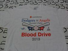 Large- Dodgers Vs Angels Blood Drive T- Shirt