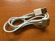 Genuine Apple USB Charge Cable Data Lead For iPhone 4 4S 3S 3GS iPod iPad 1 - 2