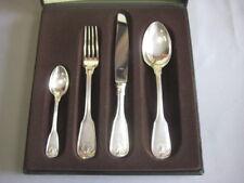 R&B Augsburger Muschel vier Teile aus 800`Silber