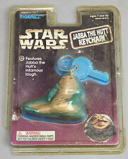 1997 TIGER STAR WARS JABBA THE HUT KEYCHAIN MINT IN PACKAGE LAUGHS