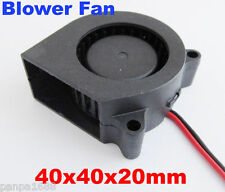 50pcs Brushless DC Cooling Blower Fan 40mm 4020S 40x40x20mm 24V 2pin/2wire UK