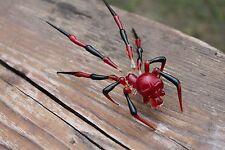 The Skull Spider Glass Spider Figurine Blown Glass Spider Gothic Skeleton Skull