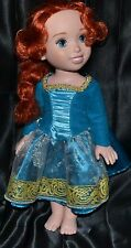 Brave Merida Viking Princess Dolls Toys Comes With Dress Girls Dolls Disney
