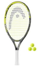 Head Novak Junior 19,21,25 Raqueta De Tenis + 3 Pelotas De Tenis RRP £ 40