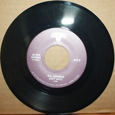 SYL JOHNSON I Been Missin' You **SEXY WAYS** Soul Funk Breaks 45 on ANTONES 0041