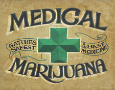 Medical Marijuana Dispensary  Print  art decor   hemp cannabis weed pot poster