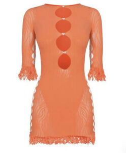 Poster Girl One Size Miranda Dress In Tangerine
