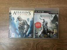 PS3 Assassins Creed lot: AC1 & AC3