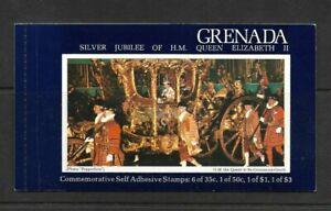 Grenada 1977 Silver Jubilee of Queen Elizabeth II Booklet