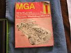 Haynes MGA Manual 1956-1962 Owner's Workshop Manual