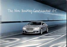 Bentley Continental GT 2011 année modèle Geneva Motor Show Press Kit