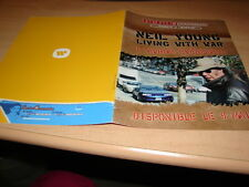 NEIL YOUNG - LIVING WITH WAR!!!!!!!!!!!RARE FRENCH ITEM