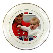 Prince George Royal Tour Visit New Zealand Porcelain Plate rare!