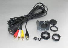 PRESA PROLUNGA USB + AUX JACK 3 RCA PER IL CRUSCOTTO 2 METRI CARICABATTERIA AUTO