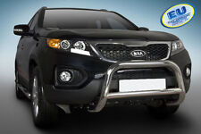 PARE BUFFLE KIA SORENTO 2009-2012 HOMOLOGUE INOX Ø 70mm A-TYPE