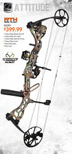 New Bear Archery Attitude RTH 70 Left Hand Bow APG Camo Release & 1/2 Dz Arrows