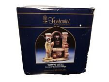 "Fontanini Italy 5"" Retired Town Well #54305 W/ Box & Figurine"