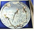 1973~Haviland Limoges~Four Colly Birds~12 Days of Christmas #4 Plate~France