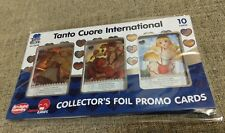 Tanto Cuore International Collector's Foil Promo Cards