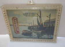 Vintage Marcel & Evrett Tavern and Lunch Thermometer  Hart Michigan Thermometer