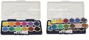 Deckfarbkasten 12 24er 1Tube Deckweiß Malkasten Wasserfarben Tuschkasten Stylex
